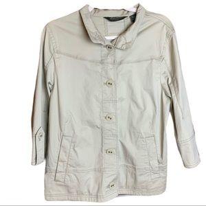 Eddie Bauer Front Button Up Jacket Sz L